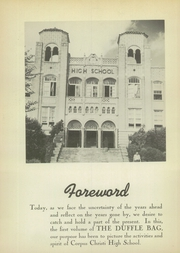 Page 8, 1942 Edition, Corpus Christi High School - Duffle Bag Yearbook (Corpus Christi, TX) online yearbook collection