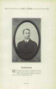 Page 9, 1925 Edition, Tippecanoe High School - Canoe Yearbook (Tipp City, OH) online yearbook collection