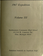 Page 13, 1967 Edition, Northwestern Community High School - Expedition Yearbook (Flint, MI) online yearbook collection