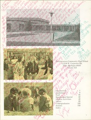 Page 5, 1976 Edition, Northwestern Community High School - Expedition Yearbook (Flint, MI) online yearbook collection