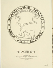 Page 5, 1974 Edition, Brandywine Heights High School - Tracer Yearbook (Topton, PA) online yearbook collection