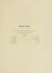 Page 25, 1909 Edition, North Carolina State University - Agromeck Yearbook (Raleigh, NC) online yearbook collection