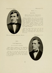 Page 31, 1909 Edition, North Carolina State University - Agromeck Yearbook (Raleigh, NC) online yearbook collection