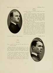 Page 35, 1909 Edition, North Carolina State University - Agromeck Yearbook (Raleigh, NC) online yearbook collection