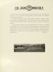 Page 14, 1915 Edition, North Carolina State University - Agromeck Yearbook (Raleigh, NC) online yearbook collection