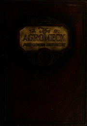 Page 1, 1922 Edition, North Carolina State University - Agromeck Yearbook (Raleigh, NC) online yearbook collection