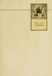 Page 5, 1922 Edition, North Carolina State University - Agromeck Yearbook (Raleigh, NC) online yearbook collection