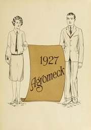 Page 7, 1927 Edition, North Carolina State University - Agromeck Yearbook (Raleigh, NC) online yearbook collection