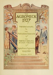 Page 9, 1927 Edition, North Carolina State University - Agromeck Yearbook (Raleigh, NC) online yearbook collection