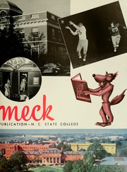 Page 7, 1949 Edition, North Carolina State University - Agromeck Yearbook (Raleigh, NC) online yearbook collection