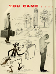 Page 8, 1962 Edition, North Carolina State University - Agromeck Yearbook (Raleigh, NC) online yearbook collection