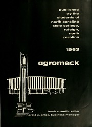 Page 5, 1963 Edition, North Carolina State University - Agromeck Yearbook (Raleigh, NC) online yearbook collection