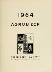 Page 5, 1964 Edition, North Carolina State University - Agromeck Yearbook (Raleigh, NC) online yearbook collection