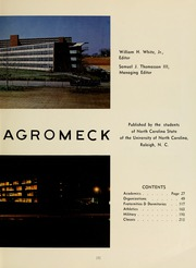 Page 7, 1964 Edition, North Carolina State University - Agromeck Yearbook (Raleigh, NC) online yearbook collection