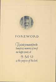 Page 8, 1925 Edition, Southern Methodist University - Rotunda Yearbook (University Park, TX) online yearbook collection