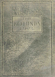 Page 1, 1926 Edition, Southern Methodist University - Rotunda Yearbook (University Park, TX) online yearbook collection