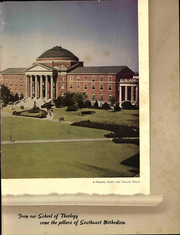 Page 13, 1941 Edition, Southern Methodist University - Rotunda Yearbook (University Park, TX) online yearbook collection