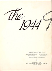 Page 6, 1944 Edition, Southern Methodist University - Rotunda Yearbook (University Park, TX) online yearbook collection