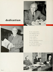 Page 10, 1952 Edition, Southern Methodist University - Rotunda Yearbook (University Park, TX) online yearbook collection