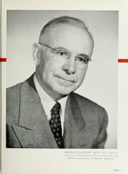 Page 11, 1952 Edition, Southern Methodist University - Rotunda Yearbook (University Park, TX) online yearbook collection