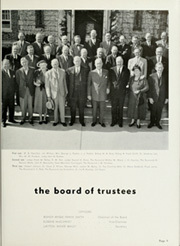 Page 15, 1952 Edition, Southern Methodist University - Rotunda Yearbook (University Park, TX) online yearbook collection