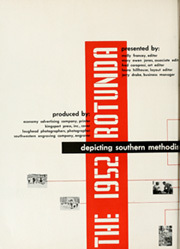 Page 8, 1952 Edition, Southern Methodist University - Rotunda Yearbook (University Park, TX) online yearbook collection