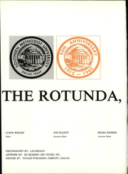 Page 8, 1965 Edition, Southern Methodist University - Rotunda Yearbook (University Park, TX) online yearbook collection