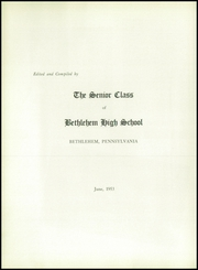 Page 8, 1953 Edition, Liberty High School - Cauldron Yearbook (Bethlehem, PA) online yearbook collection