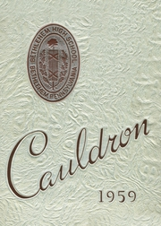 Page 1, 1959 Edition, Liberty High School - Cauldron Yearbook (Bethlehem, PA) online yearbook collection