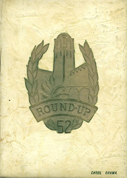 1952 Edition, Roosevelt High School - Round Up Yearbook (Honolulu, HI)