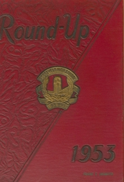 1953 Edition, Roosevelt High School - Round Up Yearbook (Honolulu, HI)