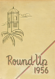 1956 Edition, Roosevelt High School - Round Up Yearbook (Honolulu, HI)