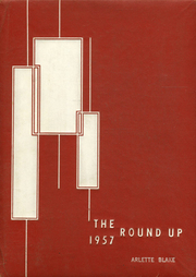 1957 Edition, Roosevelt High School - Round Up Yearbook (Honolulu, HI)