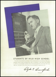 Page 14, 1941 Edition, Hilo High School - Blue and Gold Yearbook (Hilo, HI) online yearbook collection