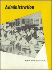 Page 11, 1955 Edition, Waipahu High School - Ka Mea Ohi Yearbook (Waipahu, HI) online yearbook collection