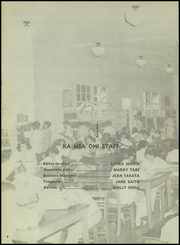 Page 10, 1956 Edition, Waipahu High School - Ka Mea Ohi Yearbook (Waipahu, HI) online yearbook collection