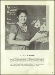 Page 9, 1956 Edition, Waipahu High School - Ka Mea Ohi Yearbook (Waipahu, HI) online yearbook collection
