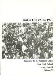 Page 5, 1971 Edition, Aiea High School - Kukui O Ka Aina Yearbook (Aiea, HI) online yearbook collection