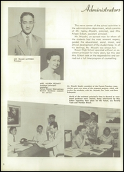 Page 12, 1956 Edition, Kauai High School - Ke Kuhiau Yearbook (Lihue, HI) online yearbook collection