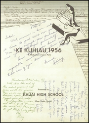 Page 5, 1956 Edition, Kauai High School - Ke Kuhiau Yearbook (Lihue, HI) online yearbook collection