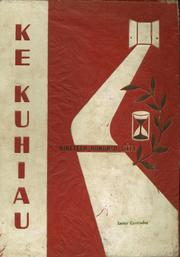 1960 Edition, Kauai High School - Ke Kuhiau Yearbook (Lihue, HI)