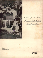 Page 10, 1951 Edition, Kapaa High School - Mailehune Yearbook (Kapaa, HI) online yearbook collection
