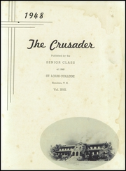 Page 5, 1948 Edition, St Louis School - Crusader Yearbook (Honolulu, HI) online yearbook collection