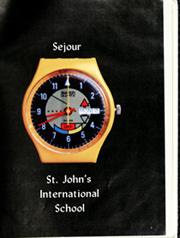 Page 5, 1988 Edition, St Johns International School - Sejour Yearbook (Waterloo, Belgium) online yearbook collection