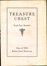 Page 5, 1930 Edition, Robert Louis Stevenson Middle School - Treasure Chest Yearbook (Honolulu, HI) online yearbook collection