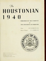 Page 5, 1940 Edition, University of Houston - Houstonian Yearbook (Houston, TX) online yearbook collection