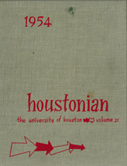 1954 Edition, University of Houston - Houstonian Yearbook (Houston, TX)