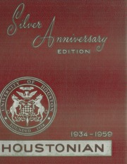 1959 Edition, University of Houston - Houstonian Yearbook (Houston, TX)