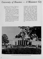Page 10, 1960 Edition, University of Houston - Houstonian Yearbook (Houston, TX) online yearbook collection