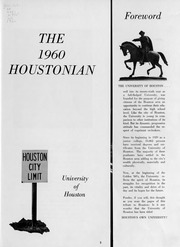 Page 4, 1960 Edition, University of Houston - Houstonian Yearbook (Houston, TX) online yearbook collection